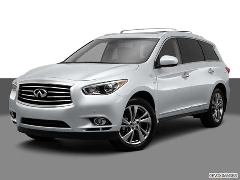 2014 Infiniti QX60 4-door 3.5  Sport Utility Front angle medium view photo