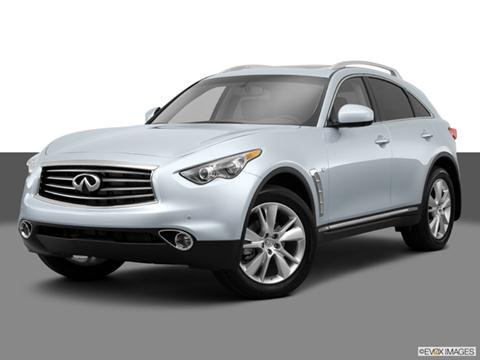 2014 Infiniti QX70 4-door 3.7  Sport Utility Front angle medium view photo