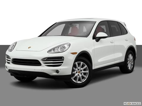 2014 Porsche Cayenne 4-door Turbo  Sport Utility Front angle medium view photo