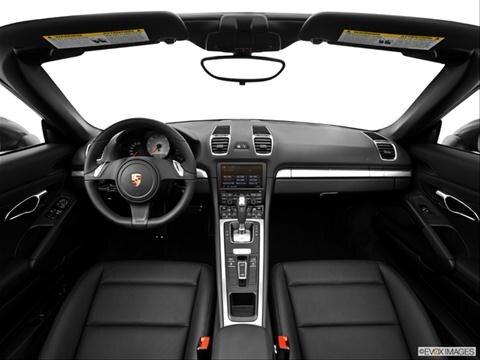 2014 Porsche Boxster 2-door S  Convertible Dashboard, center console, gear shifter view photo