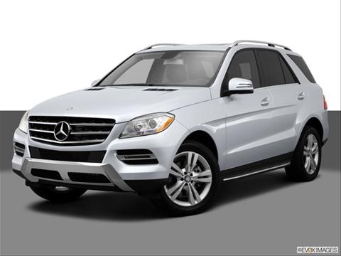 2014 Mercedes-Benz M-Class 4-door ML550 4MATIC  Sport Utility Front angle medium view photo
