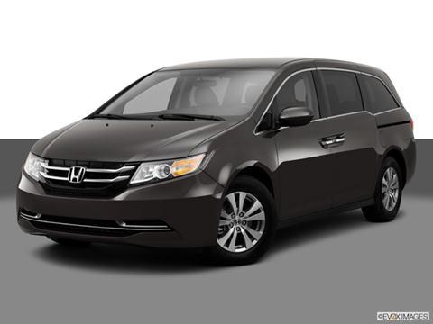 2014 Honda Odyssey 4-door EX  Van Front angle medium view photo