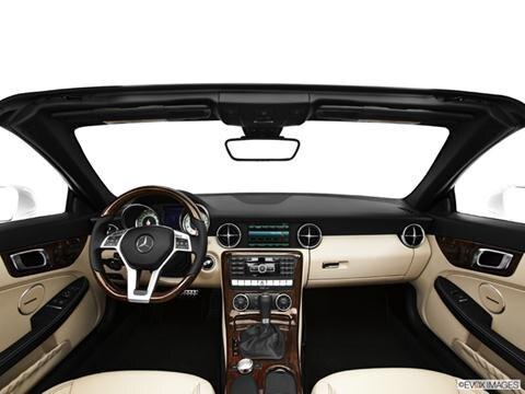 2014 Mercedes-Benz SLK-Class 2-door SLK250  Roadster Dashboard, center console, gear shifter view photo
