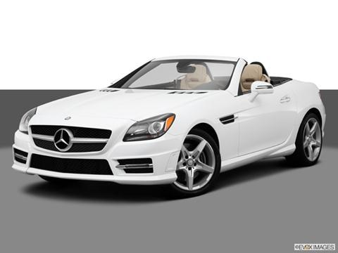 2014 Mercedes-Benz SLK-Class 2-door SLK250  Roadster Front angle medium view photo
