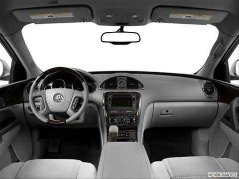 2014 Buick Enclave 4-door Convenience  Sport Utility Dashboard, center console, gear shifter view photo