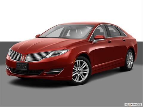 2014 Lincoln MKZ 4-door   Sedan Front angle medium view photo