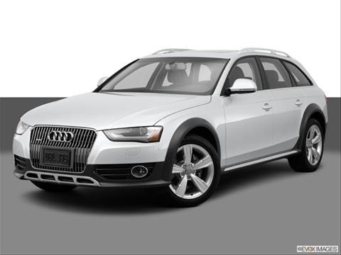 2014 Audi allroad 4-door Premium  Wagon Front angle medium view photo