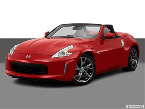 2014 Nissan 370Z 2-door Touring  Roadster Front angle medium view photo