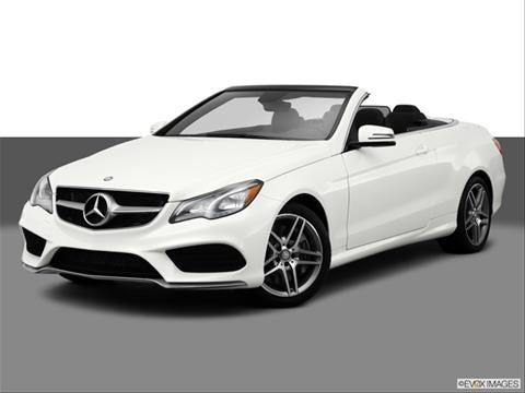 2014 Mercedes-Benz E-Class 2-door E550  Cabriolet Front angle medium view photo