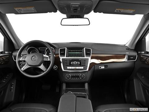 2014 Mercedes-Benz GL-Class 4-door GL350 BlueTEC 4MATIC  Sport Utility Dashboard, center console, gear shifter view photo