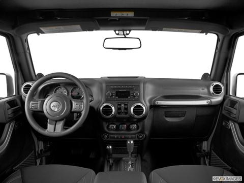 Jeep Wrangler Unlimited Dashboard X