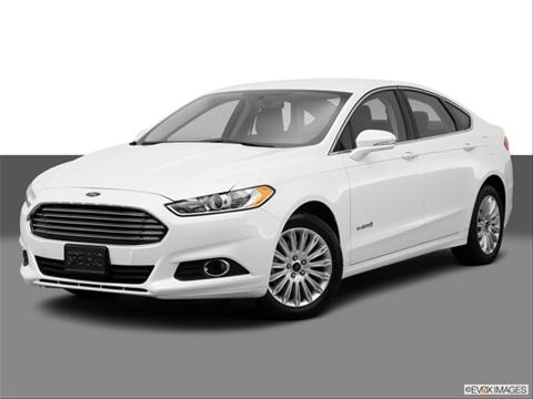 2014 Ford Fusion 4-door SE Hybrid  Sedan Front angle medium view photo