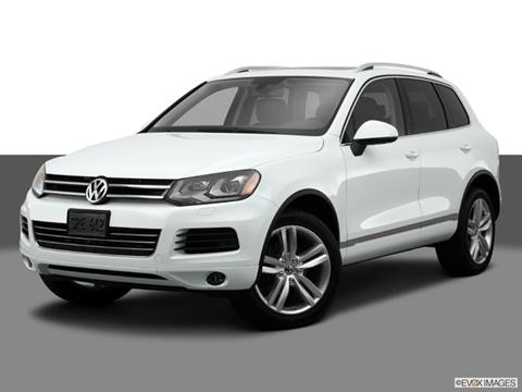 2014 Volkswagen Touareg 4-door VR6 Sport  Sport Utility Front angle medium view photo