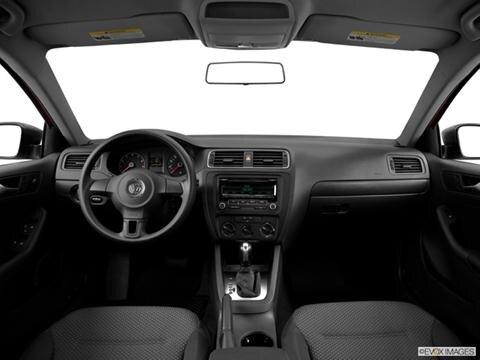 2014 Volkswagen Jetta 4-door 2.0L S  Sedan Dashboard, center console, gear shifter view photo
