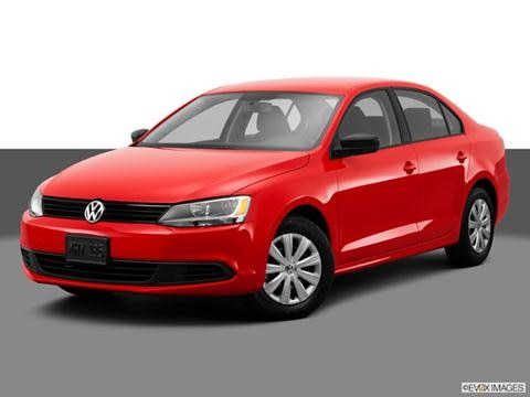 2014 Volkswagen Jetta 4-door 2.0L S  Sedan Front angle medium view photo