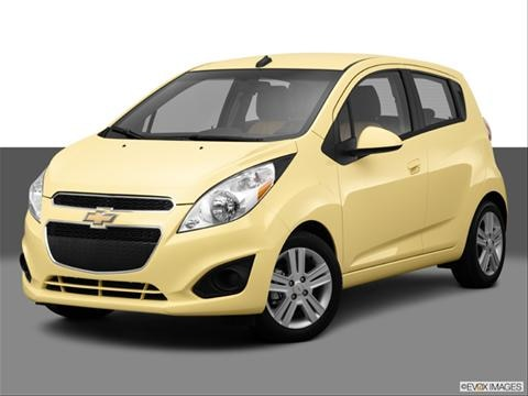 2014 Chevrolet Spark 4-door 2LT  Hatchback Front angle medium view photo