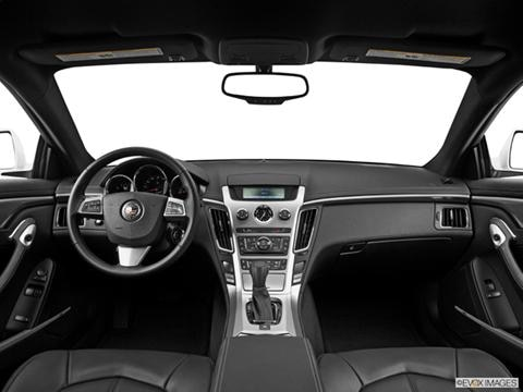 2014 Cadillac CTS 2-door 3.6  Coupe Dashboard, center console, gear shifter view photo
