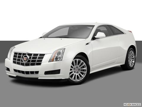 2014 Cadillac CTS 2-door 3.6  Coupe Front angle medium view photo