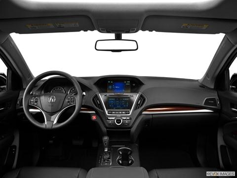 2014 Acura MDX 4-door   Sport Utility Dashboard, center console, gear shifter view photo