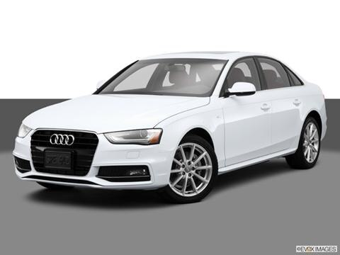2014 Audi A4 4-door Premium Plus  Sedan Front angle medium view photo