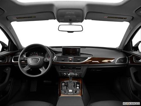 2014 Audi A6 4-door 2.0T Premium  Sedan Dashboard, center console, gear shifter view photo