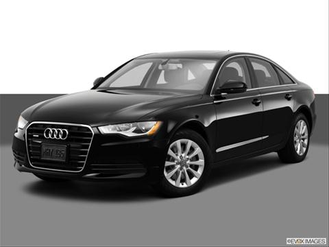 2014 Audi A6 4-door 2.0T Premium  Sedan Front angle medium view photo