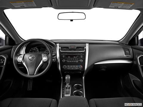 2014 Nissan Altima 4-door 3.5 S  Sedan Dashboard, center console, gear shifter view photo