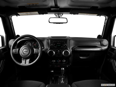 2014 Jeep Wrangler 2-door Sport S  Sport Utility Dashboard, center console, gear shifter view photo