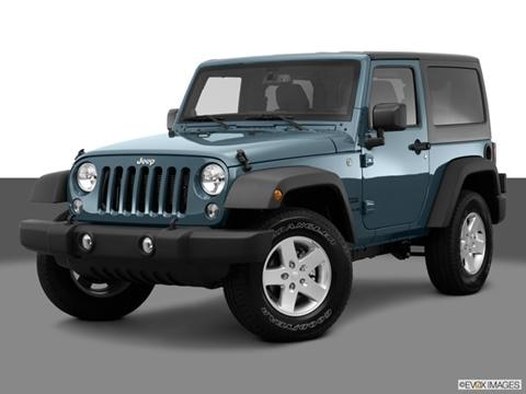 2014 Jeep Wrangler 2-door Sport S  Sport Utility Front angle medium view photo