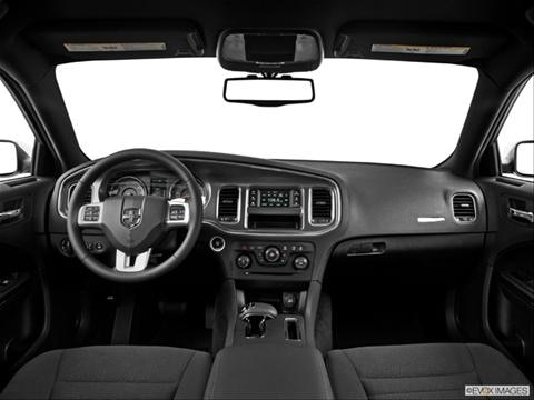 2014 Dodge Charger 4-door SE  Sedan Dashboard, center console, gear shifter view photo