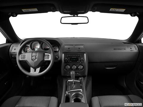 2014 Dodge Challenger 2-door SXT  Coupe Dashboard, center console, gear shifter view photo