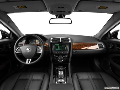 2014 Jaguar XK Series 2-door XK Touring  Coupe Dashboard, center console, gear shifter view photo