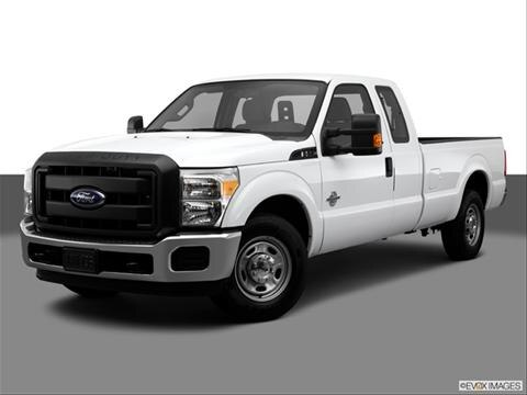 2014 Ford F250 Super Duty Super Cab 4-door XLT  Pickup Front angle medium view photo