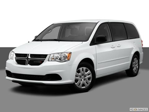 2014 Dodge Grand Caravan Passenger 4-door AVP  Van Front angle medium view photo