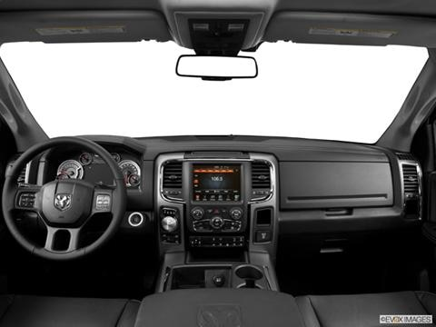 2014 Ram 1500 Crew Cab 4-door SLT  Pickup Dashboard, center console, gear shifter view photo