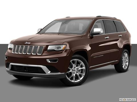 2014 Jeep Grand Cherokee 4-door Summit  Sport Utility Front angle medium view photo
