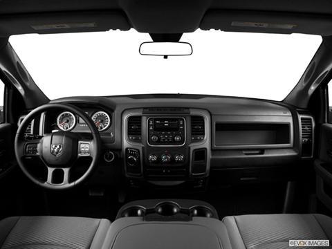2014 Ram 1500 Regular Cab 2-door SLT  Pickup Dashboard, center console, gear shifter view photo