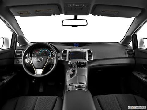 2014 Toyota Venza 4-door LE  Wagon Dashboard, center console, gear shifter view photo