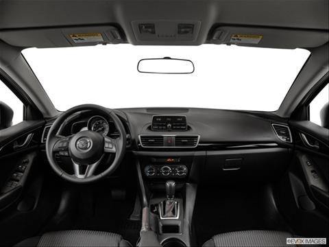 2014 Mazda MAZDA3 4-door i Grand Touring  Hatchback Dashboard, center console, gear shifter view photo