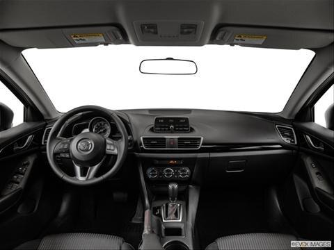 2014 Mazda MAZDA3 4-door i Grand Touring  Hatchback Dashboard, center console, gear shifter view photo
