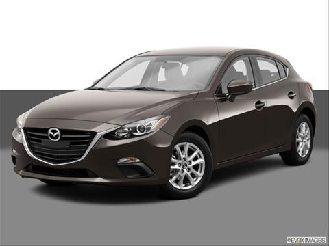 2014 Mazda MAZDA3 4-door i Grand Touring  Hatchback Front angle medium view photo
