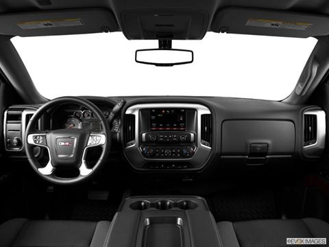 2014 GMC Sierra 1500 Double Cab 4-door   Pickup Dashboard, center console, gear shifter view photo