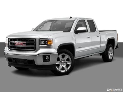 2014 GMC Sierra 1500 Double Cab 4-door SLT  Pickup Front angle medium view photo