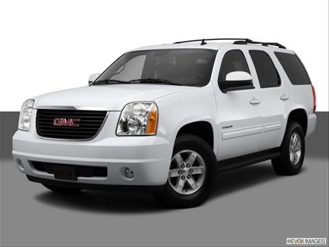 2014 GMC Yukon 4-door SLT  Sport Utility Front angle medium view photo