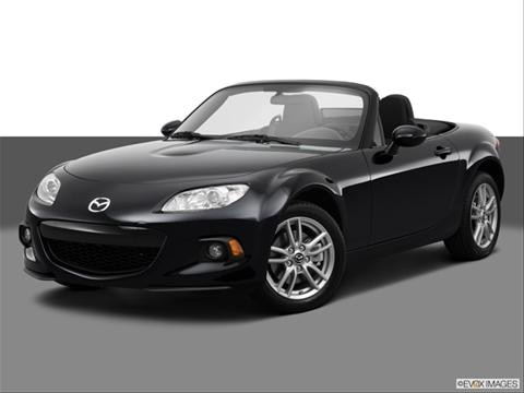 2014 Mazda Miata MX-5 2-door Sport  Convertible Front angle medium view photo