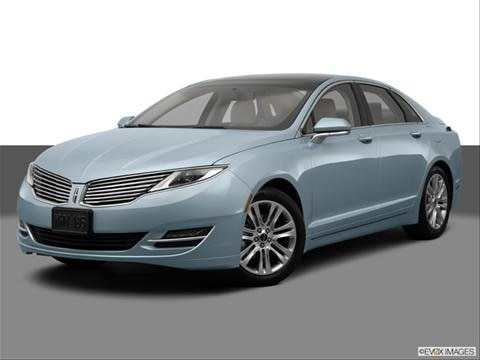 2015 Lincoln MKZ 4-door Hybrid  Sedan Front angle medium view photo