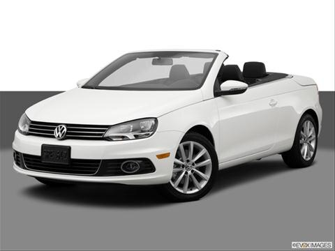 2014 Volkswagen Eos 2-door Komfort  Convertible Front angle medium view photo