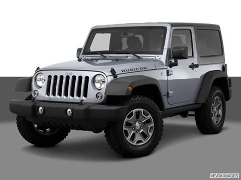 2014 Jeep Wrangler 2-door Rubicon  Sport Utility Front angle medium view photo