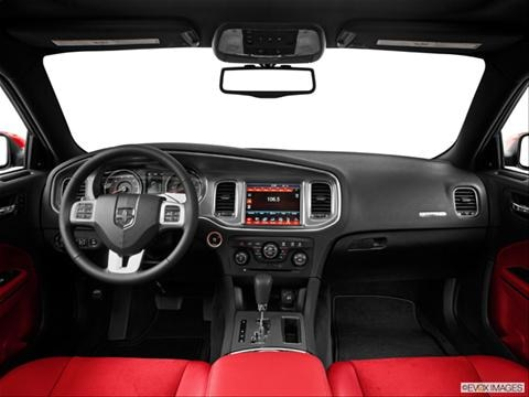 2014 Dodge Charger 4-door R/T Max  Sedan Dashboard, center console, gear shifter view photo