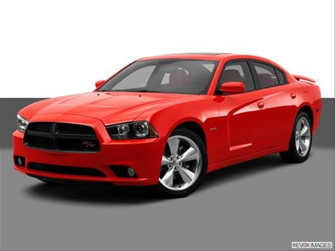 2014 Dodge Charger 4-door R/T Max  Sedan Front angle medium view photo